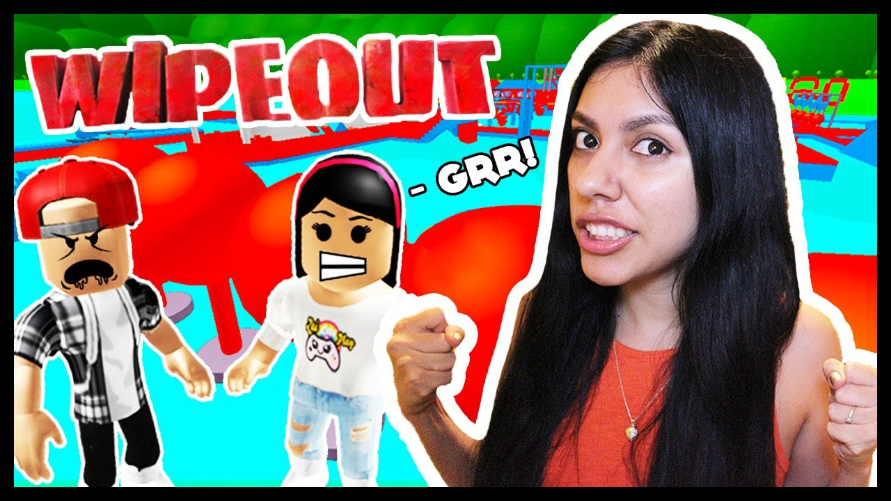 Who Is The Best Boys Vs Girls Roblox Wipeout Obby Youtube