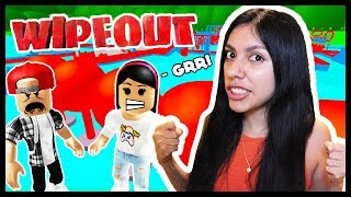 WHO IS THE BEST!? Boys vs Girls! - Roblox Wipeout Obby!