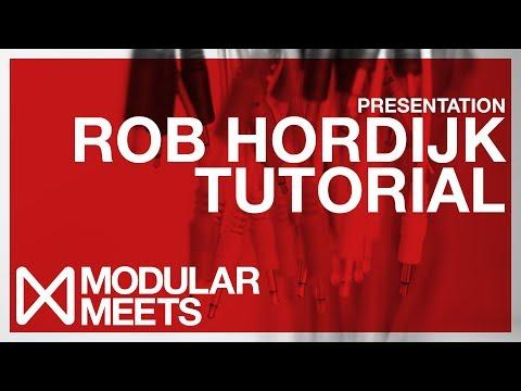 Rob Hordijk Presentation & Synth Tutorial // Modular Meets Leeds 2017