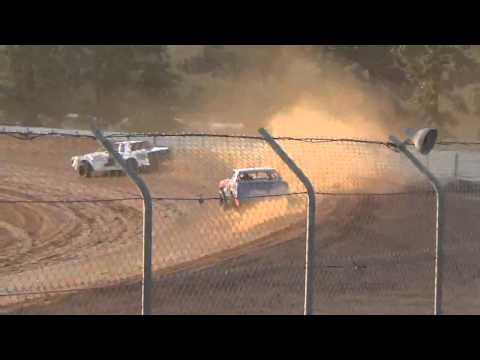 Ark La Tex speedway Tootsie Smith factory Stock hot laps