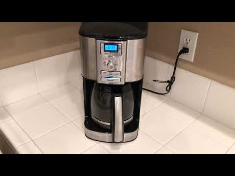 CUISINART COFFEE MAKER ( COLOR BLACK AND SILVER) REVIEW