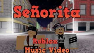 Señorita || Shawn Mendes, Camila Cabello || Roblox Music Video