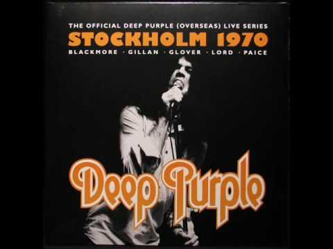 Deep Purple - Live In Stockholm 1970 (Full Album)