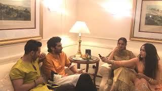 RJ Archana with Star Cast of the movie Kalank