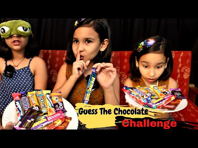 Guess the chocolate challenge / Funny Challenge / #LearnWithPari #learnwithpriyanshi