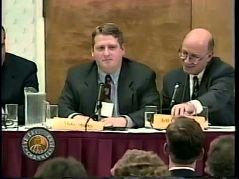 10th Annual Envisioning California Conference 1998 - Panel 2/10: Proposition 13