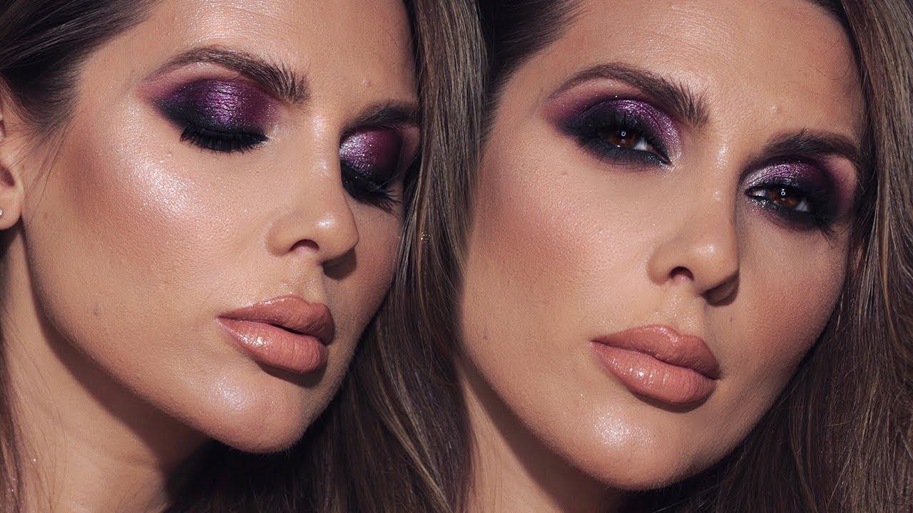 Andreea Reyes dramatic smokey eye makeup tutorial | ali andreea
