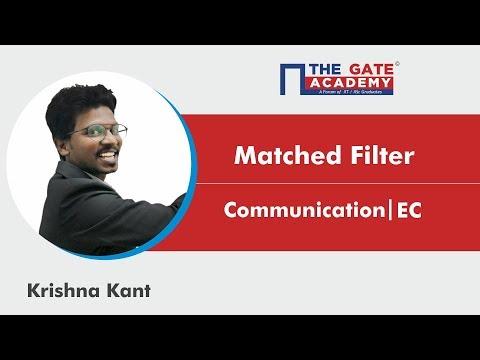 Matched Filter | Communication | Electronics & Communication Engineering