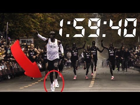 Eliud Kipchoge 1:59:40 Inspirational Video