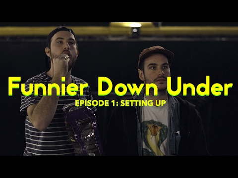 Funnier Down Under – Episode 1: Setting up
