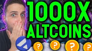 1000X GAINS AHEAD! Top Altcoins that will EXPLODE with THIS NEW ecosystem! The next SOLANA?