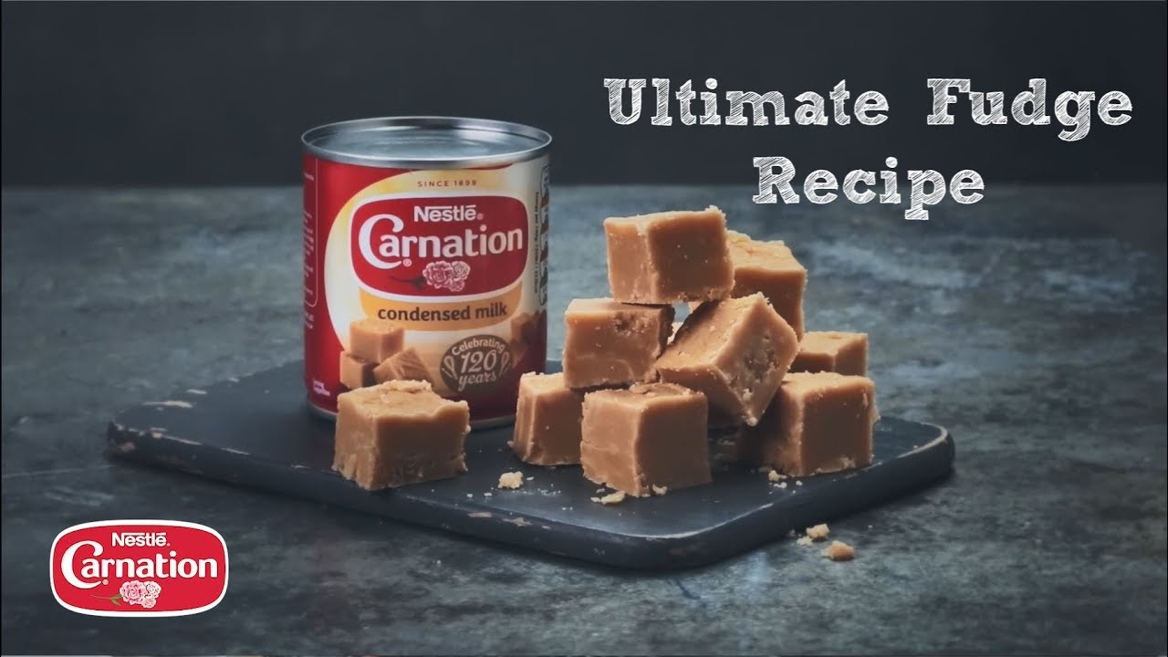 Four Ingredients Make Our Delicious Fudge No Wonder It S One Of Our Original And Most Loved R In 2020 Fudge Recipes Vanilla Fudge Recipes Fudge Recipe Condensed Milk