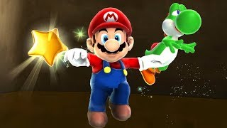 Super Mario Galaxy 2 HD 100% Walkthrough - Part 1 - World 1 (All Stars & Comet Medals)