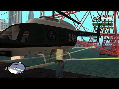 gta-san-andreas---how-get-the-police-maverick-at-the-very-beginning-of-the-game
