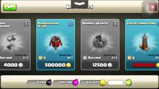 Clash of clans| New défense- Propulseur d'air