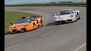 Gemballa MIG U1 - Tuned Ferrari Enzo Videos