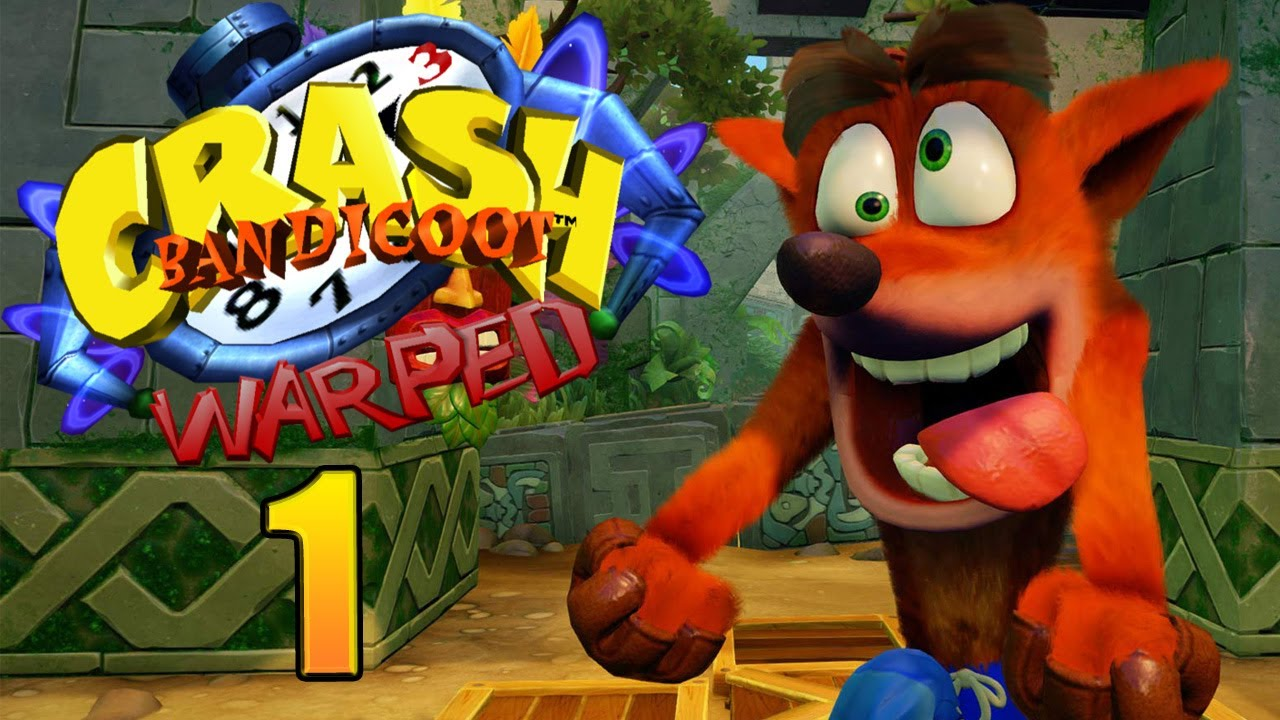 Crash Bandicoot 3: WARPED (N-Sanity HD) playthrough pt1 - Cutscenes and  Sick Graphics!