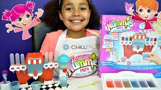 Yummy Nummies Mini Kitchen Magic Soda Shoppe - DIY Make Your Own Fizzy Drinks