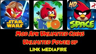 ANGRY BIRDS RIO, SPACE, STAR WARS MOD LATEST VERSION