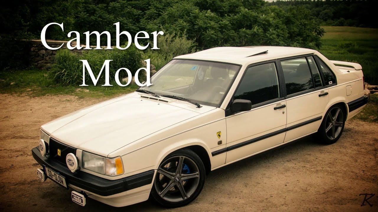 Volvo 940 Turbo: Camber mod - YouTube