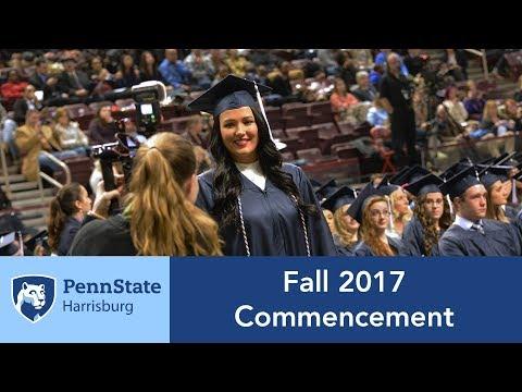 Penn State Harrisburg Fall 2017 Commencement