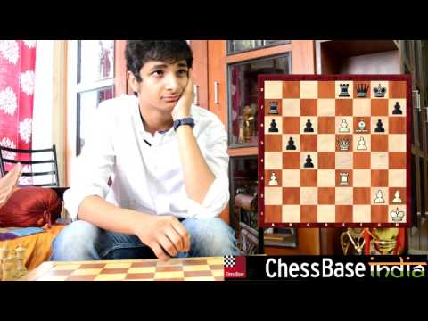 India no.3 Vidit Gujrathi solving chess problems without a chess board