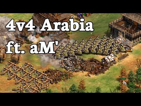 Teamgame Ft. AM'!   4v4 Arabia Vs Team China