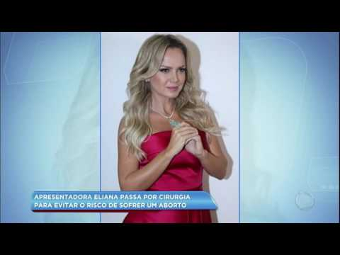 Hora da Venenosa: Eliana passa por cirurgia devido a risco de aborto