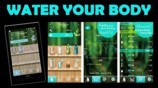 Ep 45 - Water Your Body - Application smartphone gratuite pour boire plus d'eau [Rééquilibrage]