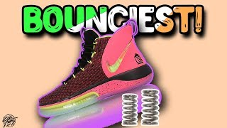 Top 10 BOUNCIEST Basketball Shoes 2019!