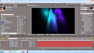 урок по созданию эффекта северного сияния в Adobe After Effects