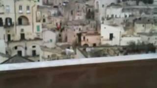 南イタリア旅行マテーラ洞窟住居群