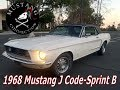 Walkaround 1968 Mustang Sprint Promotion B J Code Mustang Connection