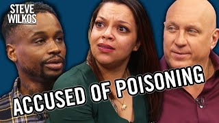 I KNOW SHE'S POISONING ME | STEVE WILKOS