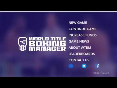 World Title Boxing Manager Road to Week 100 Episode 1 - Horrendous Start as a Boxing Manager