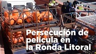 Persecución de película por el centro de Barcelona