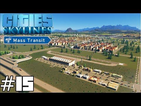 Cities: Skylines Mass Transit #15 - Airport