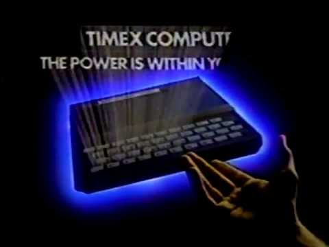 Timex Sinclair 1000 Computer TV Commercial 1982