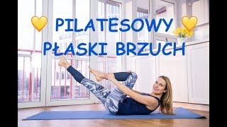 💛 Pilatesowy 💛 Płaski BRZUCH -  bez napinania szyi