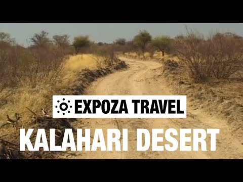 Kalahari Desert (South Africa) Vacation Travel Video Guide