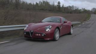 Alfa Romeo 8C Competizione test drive in Norway