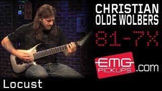 Christian Olde Wolbers of Arkaea, performs 'Locust' on EMGtv