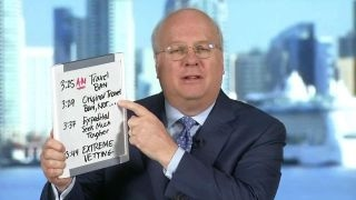 Karl Rove explains how Trump is attacking himself