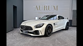 MERCEDES-BENZ AMG GT R designo diamantweiss *WALKAROUND* by AURUM International