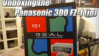 Unboxing a Japanese 3DO FZ-1 system
