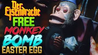 BLACK OPS 3 ZOMBIES: FREE MONKEY BOMB EASTER EGG!