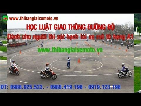 Học luật giao thông đường bộ (phần 1) - thibanglaixemoto.vn