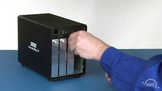 OWC ThunderBay 4: How to install hard drives or SSDs