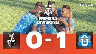 Fénix 0 VS. J.J. Urquiza 1 | Fecha 8 | Primera División B 2019/2020