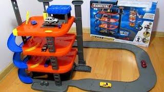 видео Игрушки для мальчиков > Парковки, гаражи, треки > Парковки, гаражи > Многоуровневые парковки